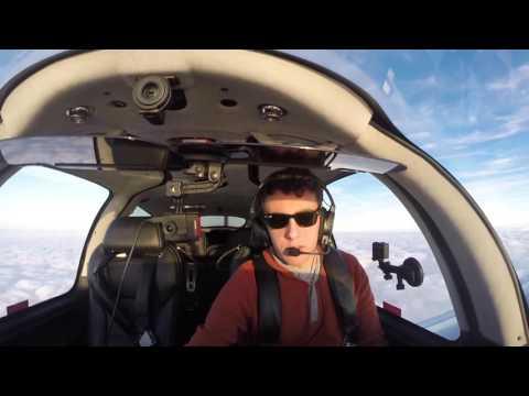 Flight VLOG | RNAV Approach to Minimums | Cirrus SR22