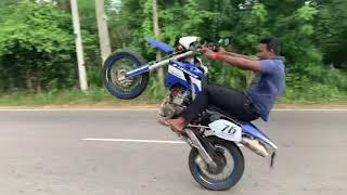 Kawasaki D Tracker Stunt AKASH PRABHA JAYANAYAKA