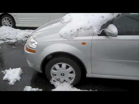 Cold Start 2005 Chevrolet Aveo 5spd Youtube
