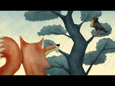 Animated Aesop's Fables :: Fox and Crow