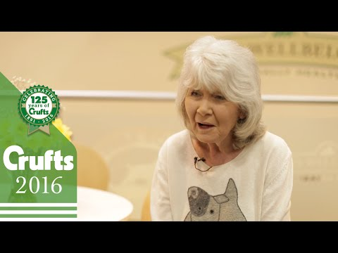 Jilly Cooper at Crufts | Crufts 2016