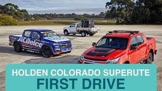Driving the Holden Colorado Superute | Drive.com.au