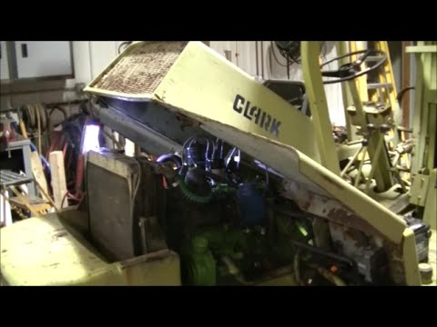 Clark IT-40 Forklift Update and Problems