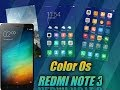 Oppo Color Os 3.0(IOS look) on redmi note 3(both locked and unlocked bootloader)