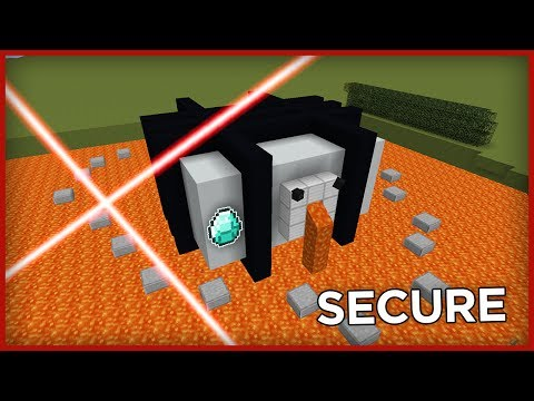 BEST AUTOMATIC DEFENCE BASE In Minecraft!
