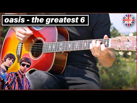 Learn Oasis' 6 Best Acoustic Songs In 9 Minutes (NO Wonderwall...)