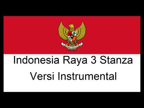 INDONESIA RAYA 3 STANZA INSTRUMENTAL