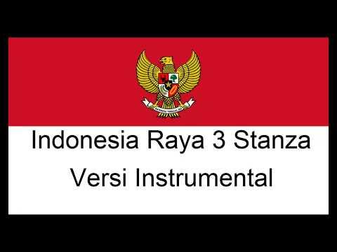 LAGU INDONESIA RAYA 3 STANZA INSTRUMENTAL