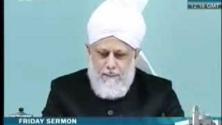 Friday Sermon 29 th October  2010 Part 1