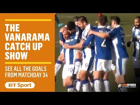 Vanarama National League Highlights Show | Matchday 34