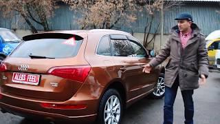 Гость из Твери. Ремонт Audi Q5.