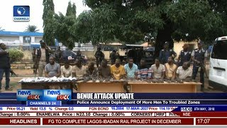 Police Parade 11 Suspects For Complicity In Benue Killings