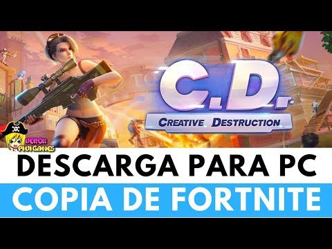 DESCARGAR CREATIVE DESTRUCTION PARA PC | Copia de FORTNITE de POCOS REQUISITOS
