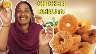 Tribal Women Taste Test Chicken Honey Donuts
