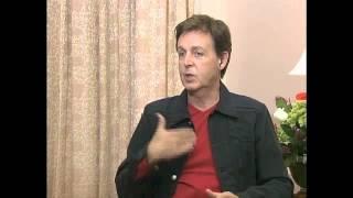2003年来日時のインタビュー。「病床のジョージをリンゴと見舞い、ビー...