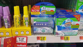 Walmart IN-STORE couponing! MONEYMAKER, FREEBIE, AND CHEAP CLEANERS OH MY!!!
