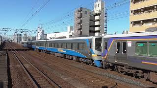 2018.5.24 南海電鉄 12000系 + 8000系 12001F + 8008F 特急サザン なんば 南海電車 南海車両一覧