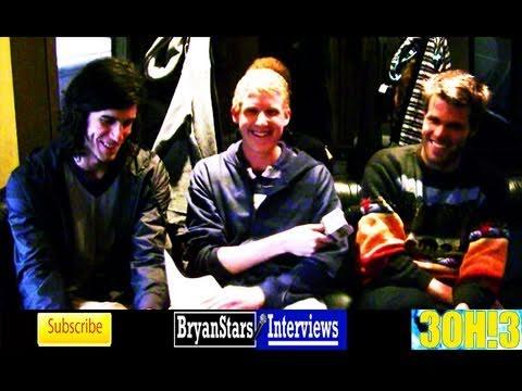 3OH!3 Interview Sean Foreman & Nathaniel Motte Alternative Press Tour 2011