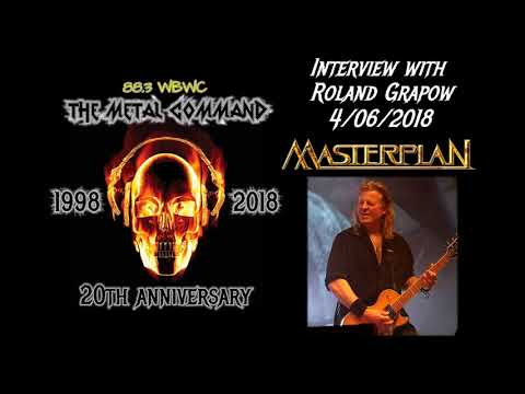 Interview with Roland Grapow of Masterplan - 4-6-2018