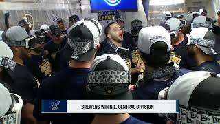 Braun thanks Stearns and Counsell in postgame speech