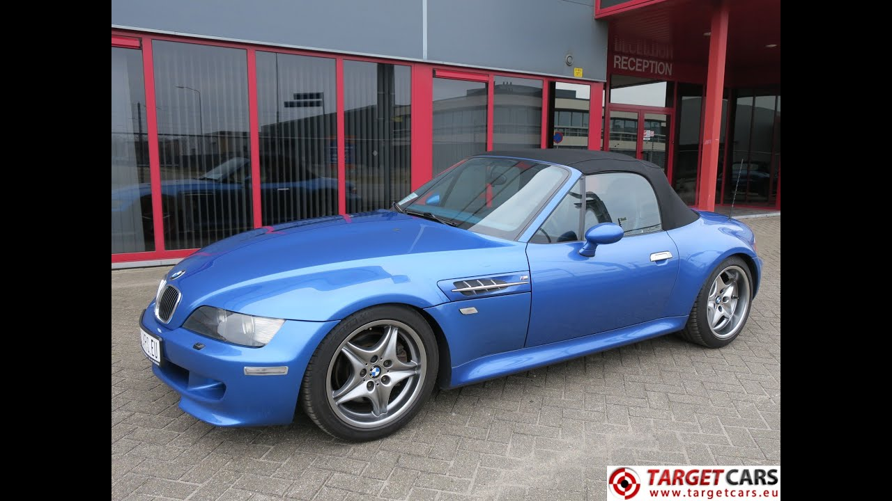 750349 bmw z3m cabrio 3 2l 325hp s54 m roadster 06 02 blue 87167km rh youtube com Angel Eyes BMW M Roadster BMW Z4 M Roadster
