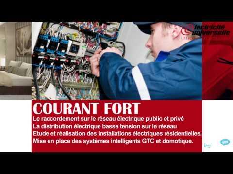 Electricité Universelle - électricité générale Maroc by ALLOWEB