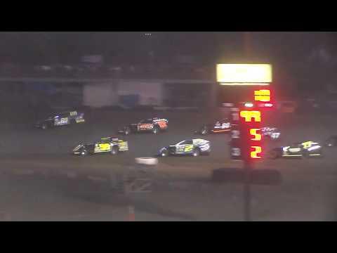 Nodak Speedway IMCA Modified B-Main (Motor Magic Night #1) (9/2/17)