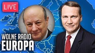 Radosław Sikorski live: Wolne Radio Europa #02 - z Janem Vincentem Rostowskim o Brexicie i euro