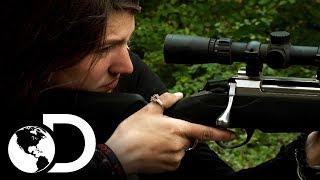 La familia Brown se prepara para ir de caza | Alaska: Hombres primitivos | Discovery Latinoamérica