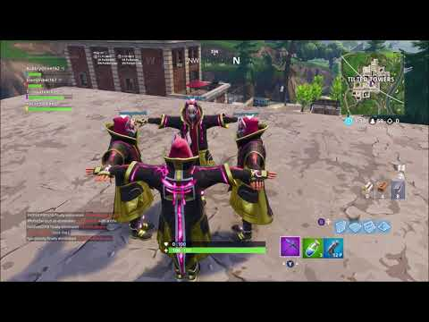 Fortnite T-Pose Funny Moments!