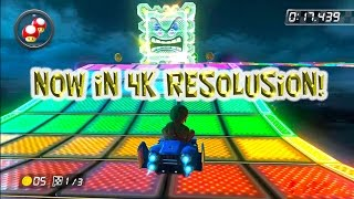 Mario Kart ~ Rainbow Road 1992 to 2015 Generations (4K)
