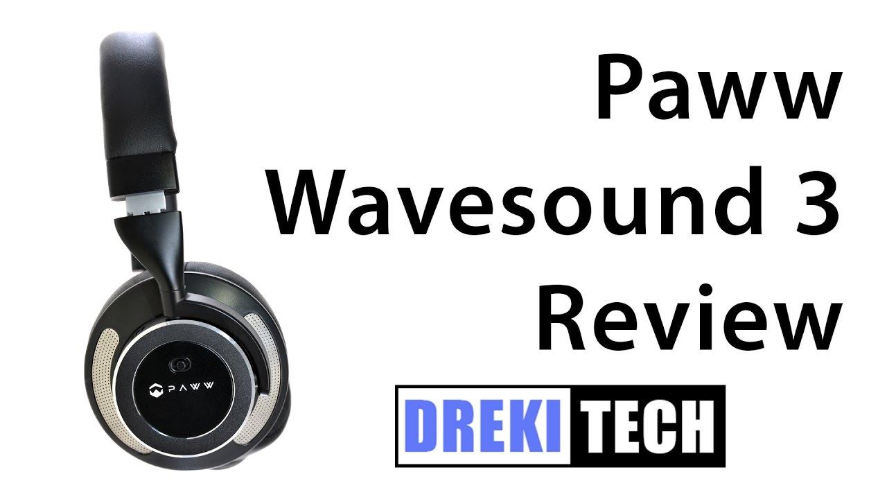 7de2984c7e3 Paww Wavesound 3 Bluetooth Headphones Review - YouTube