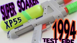 Super Soaker XP 55 Water Gun Demo Test  1994 Vintage Toy Larami