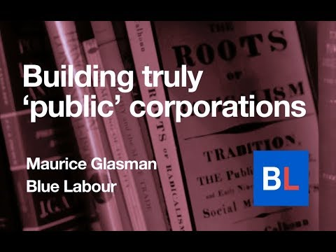 Building truly 'public' corporations