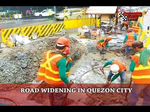 Road Widening in Quezon City   Motoring News