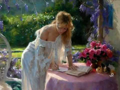Andre Rieu -Toselli Serenade and Vicente Romero - paintings