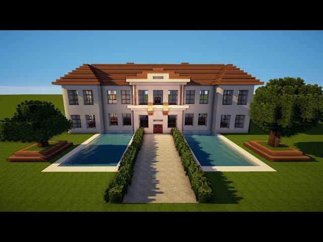 Jannis Gerzen Großes Minecraft Herrenhaus Schloss Bauen Tutorial - Minecraft hauser zeigen