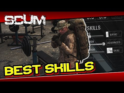 SCUM - Best Skills and Attributes Guide [ Tips and Tricks ] - Как