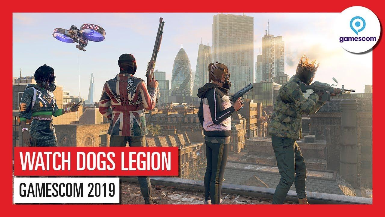 WATCH DOGS LEGION GAMESCOM 2019 – GIOCA NEI PANNI DI CHIUNQUE