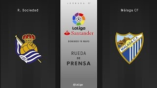 Video Gol Pertandingan Real Sociedad vs Malaga