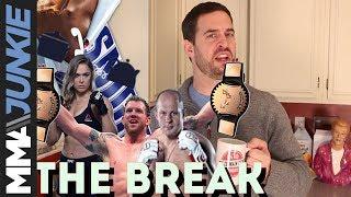 The Break: On Bellator's ideal scenario, Ronda Rousey's odd choice of words