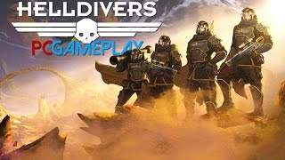 Helldivers Gameplay (PC HD)