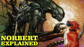 NORBERT THE SYNTHETIC XENOMORPH EXPLAINED - ALIENS HARVEST