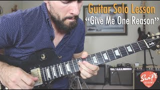 """How to play the guitar solo tracy chapman's """"give me one reason""""complete tablature at: https://www.patreon.com/posts/19967195hello friends,and welcome ..."""