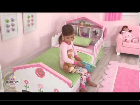 lit maison de poup es pour les tout petits kidkraft 76255 meubles chambres enfants sur bilboquet. Black Bedroom Furniture Sets. Home Design Ideas
