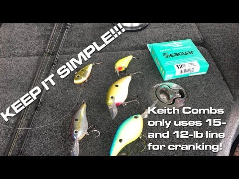 Limit Your Line Choices When Crankbait Fishing For Bass