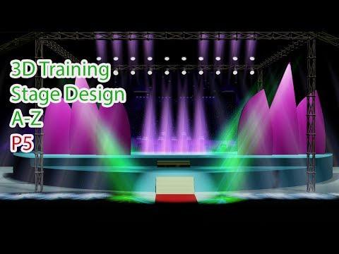 Học 3D Event Stage Lighting Effect Hiệu Ứng Ánh Sáng 3D Sân Khấu a-z 3dclass.net 0907707728 Bài 5