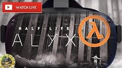 Half-Life Alyx Gameplay Live stream. Deutsch