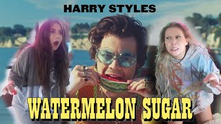 "REACTING TO ""WATERMELON SUGAR"" - HARRY STYLES (scary)"