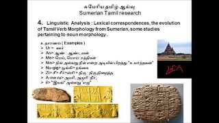 History of Genuine Wisdom of Tamilar in the Sumerian Root